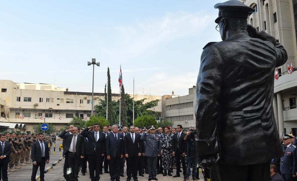 احتفال الذكرى السنوية الرابعة لاستشهاد اللواء وسام الحسن